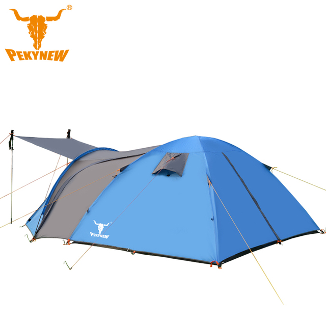 PKN-C3002 4-6 bunk large family tent pole tent lengthening waterproof Tourist tent  sc 1 st  AliExpress.com & PKN C3002 4 6 bunk large family tent pole tent lengthening ...