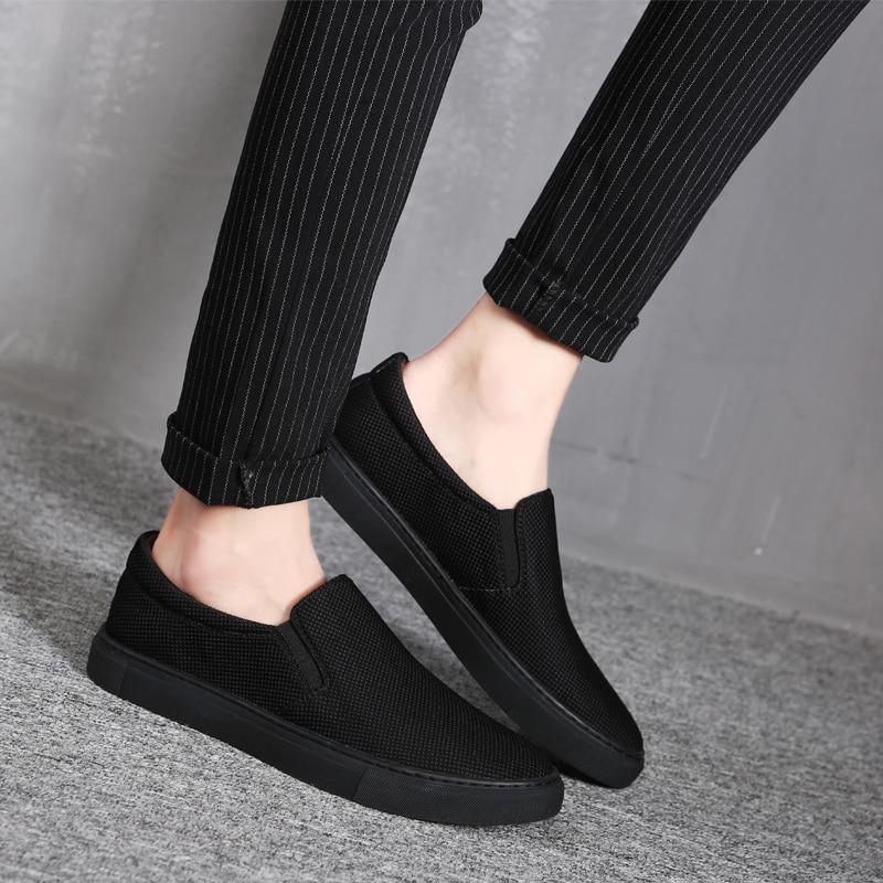 hombre Confortáveis Sapatos Zapatos Respirável Listagem Nova A Livre Ar Ao Masculinos Heinrich De 2018 Preto Homens branco Lona Moda Luz wWnqTIw0B