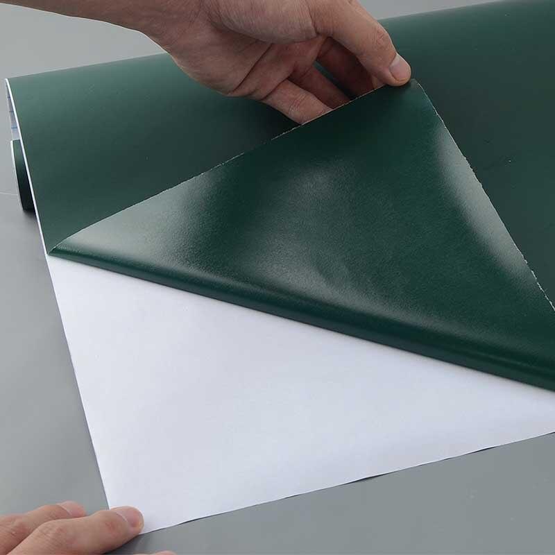 Creative bricolage tableau à craie Noir Blanc Vert Tableau Noir PVC ...