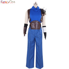 Halloween New Men's  Final Fantasy VII  Cloud Strife Cosplay Costume Adult Deluxe High Quality Custom Made Anime Movie