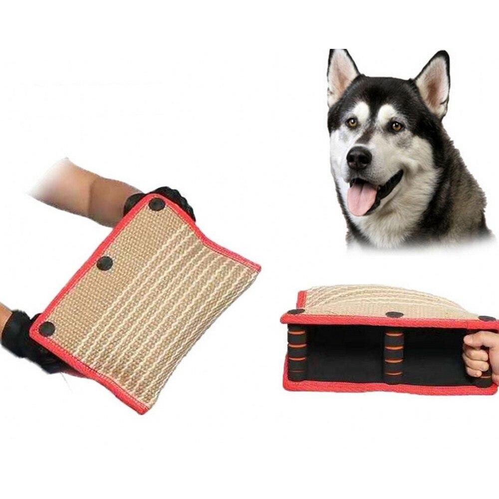 Haute qualité animaux chiens jouets grand chien morsure formation Durable en plein air mouvement chien jouets interactif en métal corde poignée Pet mâcher jouet
