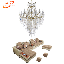 Modern Crystal Chandelier Lighting Classic Maria Theresa Light LED Classical Hotel Restaurant Hanging