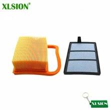 XLSION воздушный фильтр Набор подходит Stihl отрезать пила для резки бетона TS410 TS420 TS480i TS500i