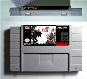 Final Fantasy VI 6 - RPG Game Battery Save US Version image