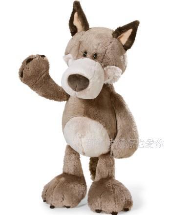 Plush Toy Stuffed Doll Nici Cute Forest Animal Wolf Valentine