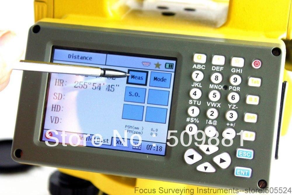 Sul NTS-342R Reflectorless, Estação Total, mais recente função de cartão SD USB Estação Total Vitória