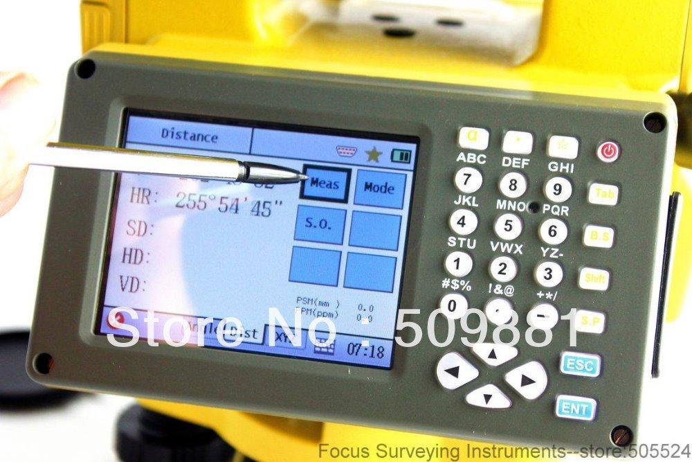 Sur NTS-342R reflector, estación total, la última función de la tarjeta SD USB Win estación total