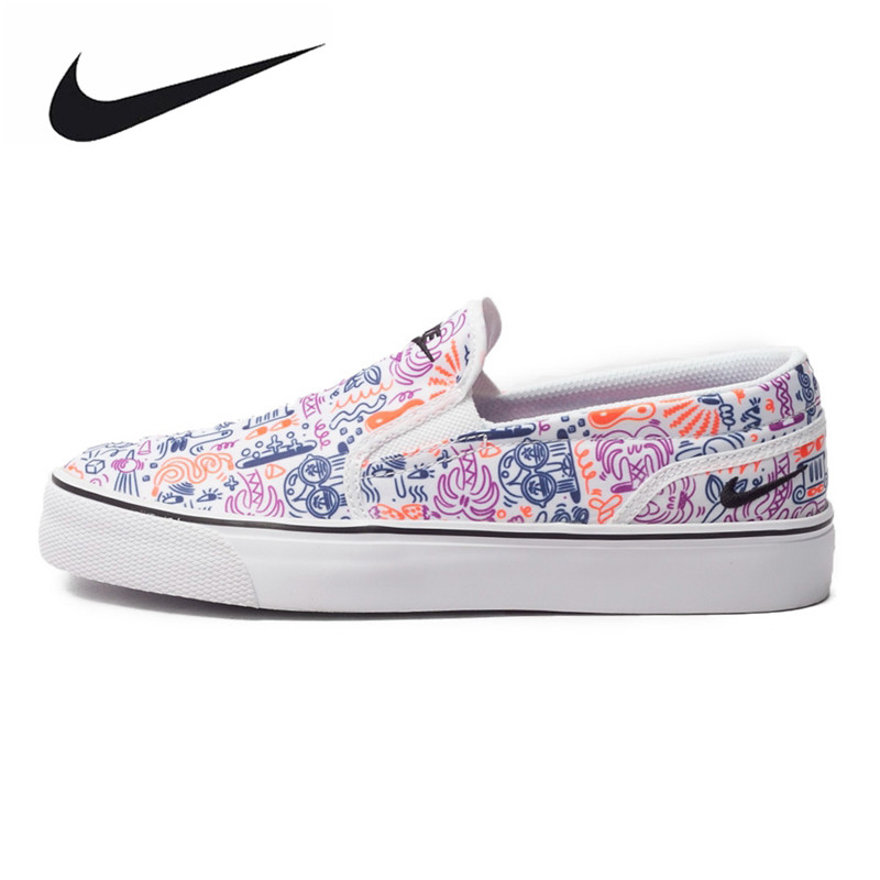 Original New Arrival Toki Slip NIKE Women's Light Comfortable Skateboarding Shoes Sneakers Trainers nike original new arrival mens skateboarding shoes breathable comfortable for men 902807 001