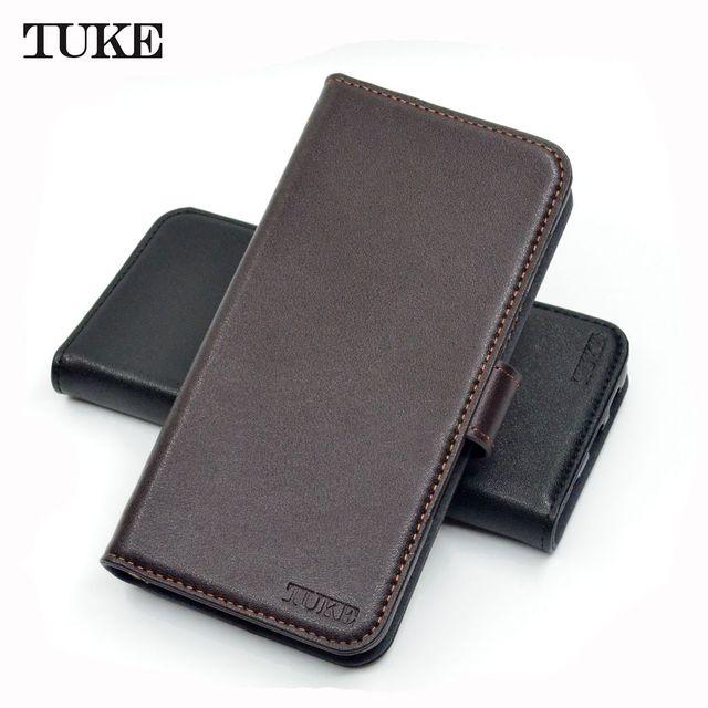 TUKE אמיתי עור Flip Case עבור Sony XA1 בתוספת ארנק סטנד כיסוי עבור Sony Xperia XA1 + G3421 G3423 SM11L g3412 G3416 טלפון תיק