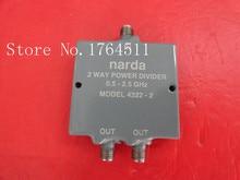[БЕЛЛА] два Narda делитель мощности 4322-2 0.5-2.5 ГГц SMA