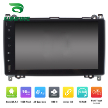 Octa Core 1024*600 Android 6.0 Car DVD GPS Navigation Multimedia Player Car Stereo for Benz A-class W169 2004-2012 Radio WIFI