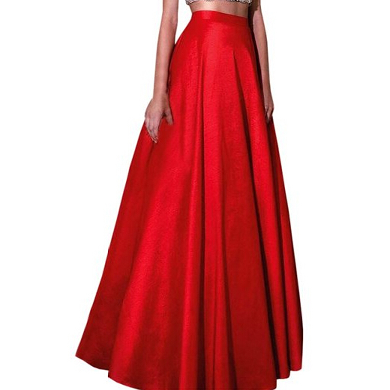 Long Taffeta Skirt Reviews Online Shopping Long Taffeta