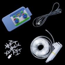 1 комплект Автоматический водяной таймер капельного орошения интеллектуальный электронный садовый сельскохозяйственный полив система таймеры контроллер