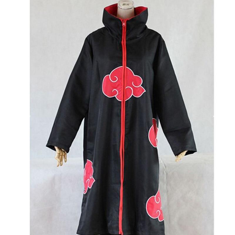 Anime  Naruto Akatsuki  Cosplay Costumes Cloak Orochimaru Itachi Uchiha Madara Sasuke Pein Robe Coat Halloween Naruto Robes
