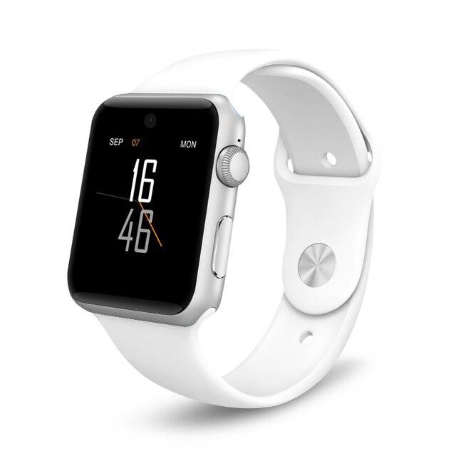 DM09 Bluetooth montre intelligente LF07 pour Apple Watch 2.5D HD écran Support 2G SIM podomètre Smartwatch appareils portables PK DZ09