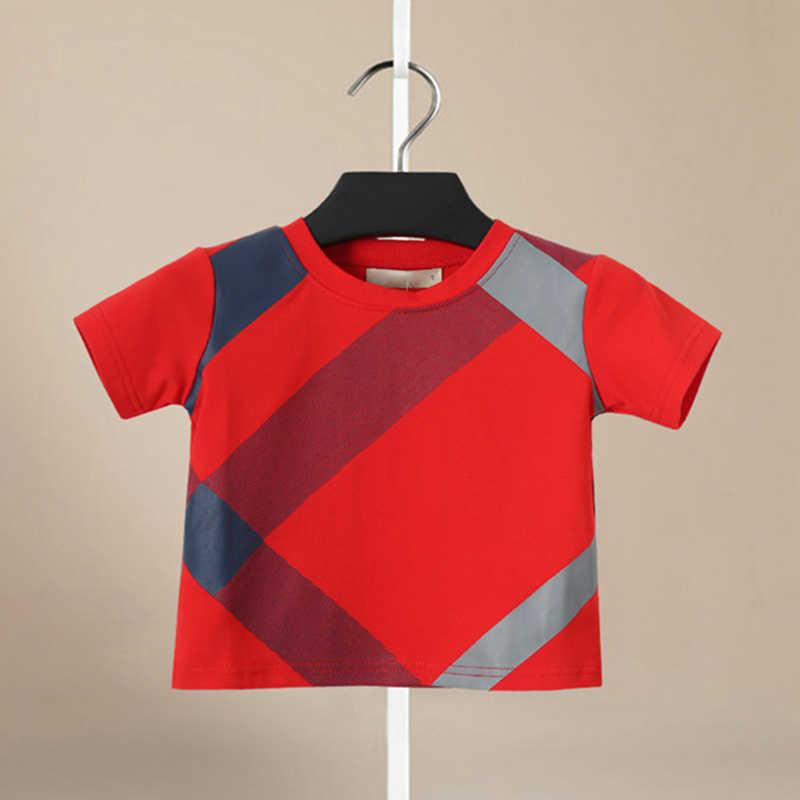 2019 Ragazzi Set di bicchierini di Estate di vestiti O-Collo Manica Corta Magliette e camicette di Cotone Inghilterra di Stile del Ragazzo Tee Shirt Per Bambini T- shirt + bicchierini Del Vestito