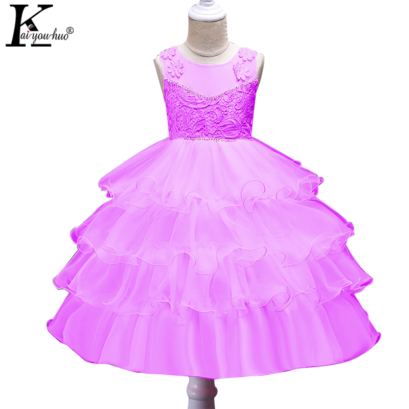 KEAIYOUHUO 2017 New Christmas Girls Dress Sleeveless Children Clothes Party Princess Kids Dresses For Girl Clothes Wedding Dress keaiyouhuo new girls clothes summer party girls wedding dress children clothing princess kids dresses for girls costume vestidos
