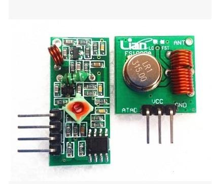 H01 50 пар(100 шт) 315 МГц РЧ передатчик и приемник link kit