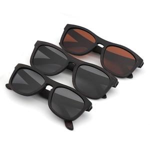 Image 3 - רטרו גברים מקוטב נשים משקפי שמש שחור עץ ילדים זוגות שמש משקפיים בעבודת יד UV400 עם במבוק עץ תיבה
