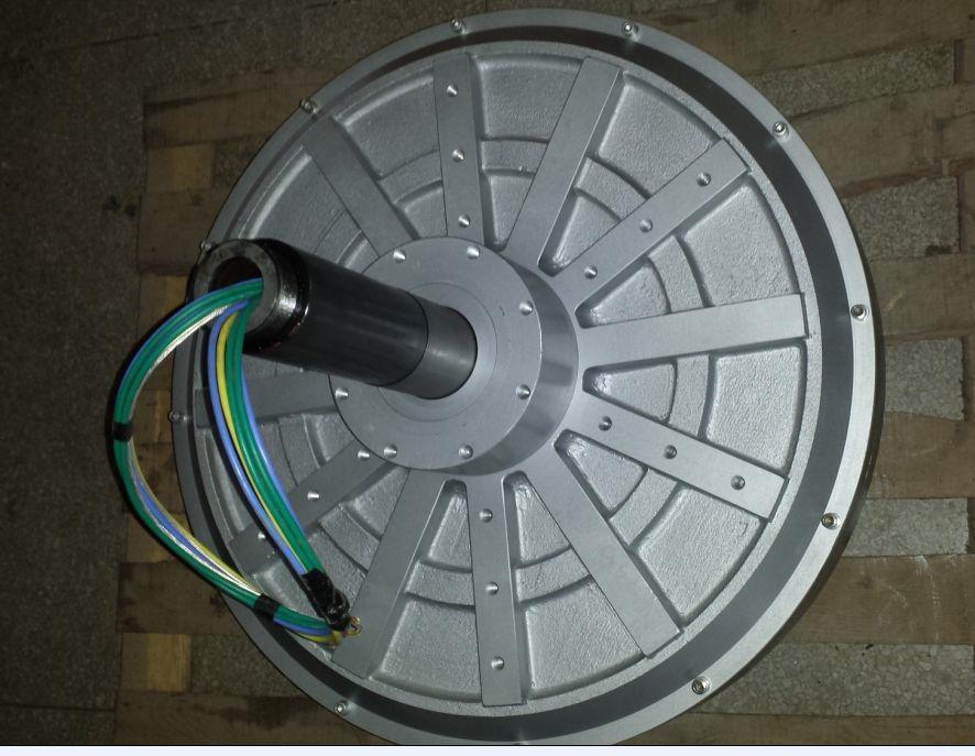 0db3e28ff99 7500 W 10KW 70 100 150 RPM 220 380VDC vertical gerador de turbina eólica de  ímã permanente alternador coreless DIY casa em Geradores de Energia  alternativa ...