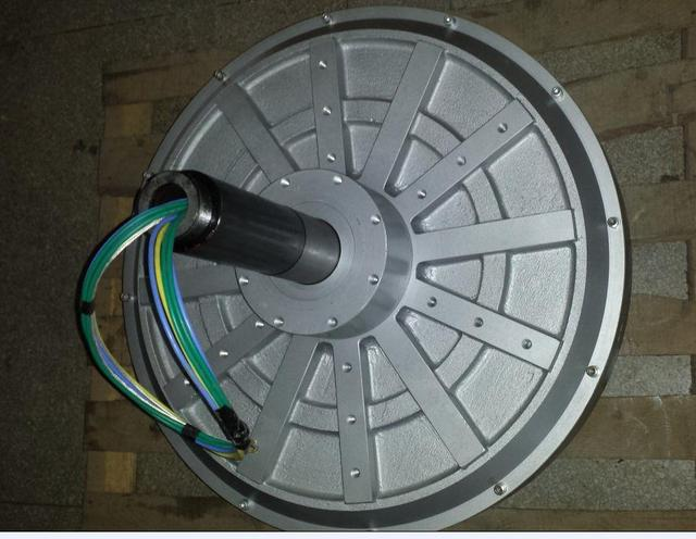 7500w 10kw 70 100 150rpm 220 380vdc Vertical Wind Turbine Permanent