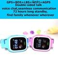 2017 Новый Смарт детские часы детские F523 smartwatch совместим с IOS Android sim-карты Поддержка GPS позиционирования sos аварийного