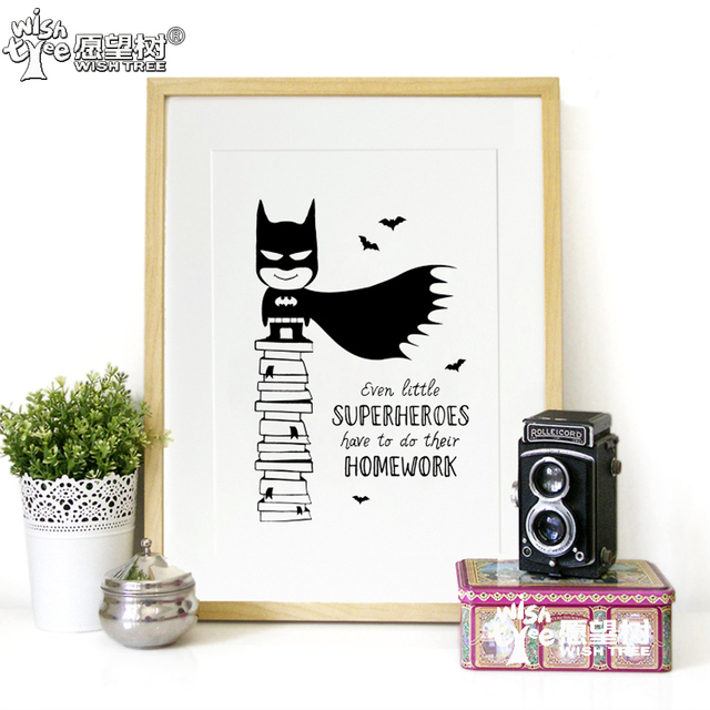 Batman Posters And Prints Wall Art No Frame