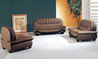 Free Shipping 1 2 3 Italy Desgin Genuine Leather Sofa 1 2 3 Sectional Set Living