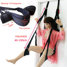 Sex Erotic Toys shop tool for Couples Sex Swing Soft Sex Furniture Fetish Bandage Love Adult game Chairs Hanging Door Swing