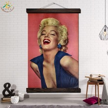 Monroe Beautiful Smile Single Modern Canvas Art Prints Poster Wall Painting Scroll Artwork Pictures Home Decor