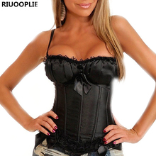 RIUOOPLIE Women Lace Cute Sexy Corset Body Sculpting Weight Loss Lingerie Vest Shapers Baroque Winds Cosplay