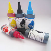 High Quality 5 Bottles 100ML PGI 670 CLI 671 Dye Ink For Canon MG6860 MG5760 Inkjet
