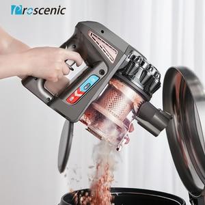 Image 2 - Proscenic P8 בתוספת אולטרה שקט שואב אבק זקוף אנכי/כף יד שואבי אבק Aspirator 15000Pa חזק כוח עבור בית