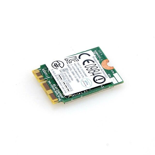 Для BCM94352Z M.2 NGFF 802.11AC 867 Мбит BT4.0 для Lenovo T61 FRU 04X6020 Hackintosh S0P54