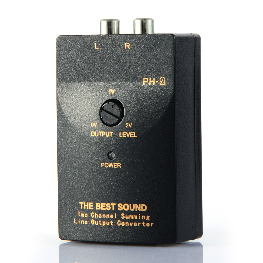 High VF Rotates Low VF Auto Car RCA Stereo Speaker Level Converter Audio Levels Converters PH-2