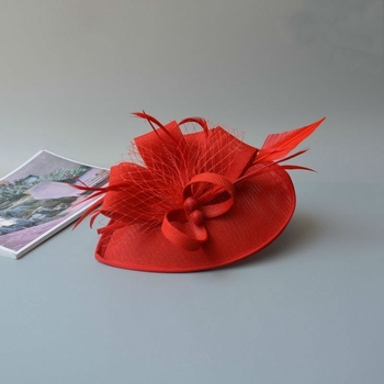 Chic Feather Fascinator 4