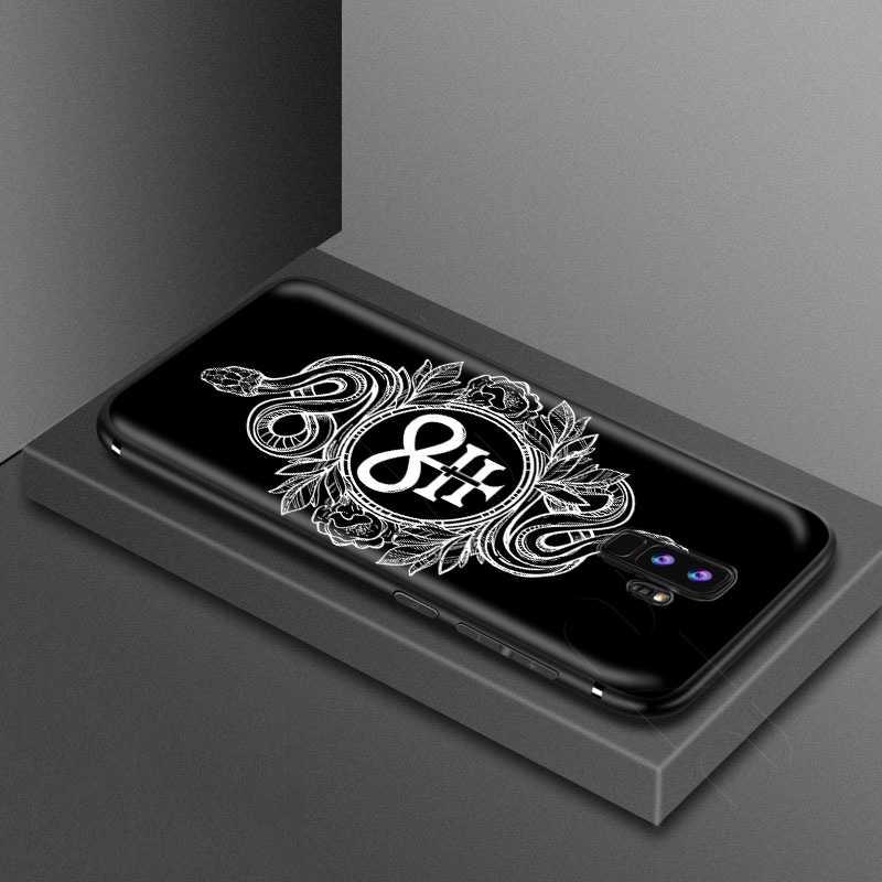 Lavaza Pentagram 666 Demonic Satanic Case for Samsung Galaxy S10 S9 S8 S7 S6 Plus Note 9 8 M30 M20 M10 Edge