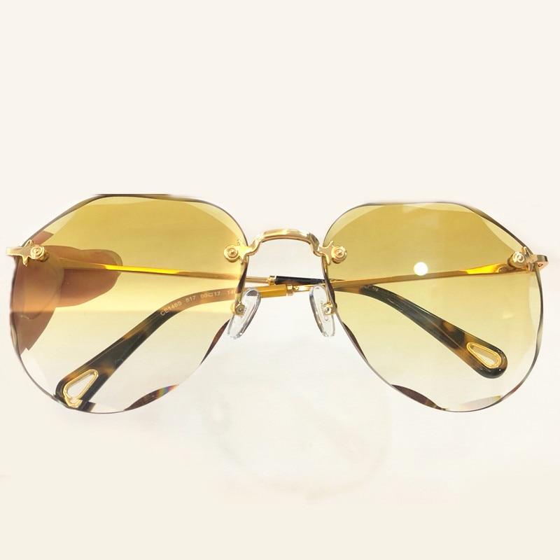Sol Frauen Feminino Vintage 1 Männer Oculos Pilot 4 no De no Rahmen Box Für 5 Original no no No Sonnenbrille Mit 3 Designer 2 Hohe Metall Qualität rOIqO7