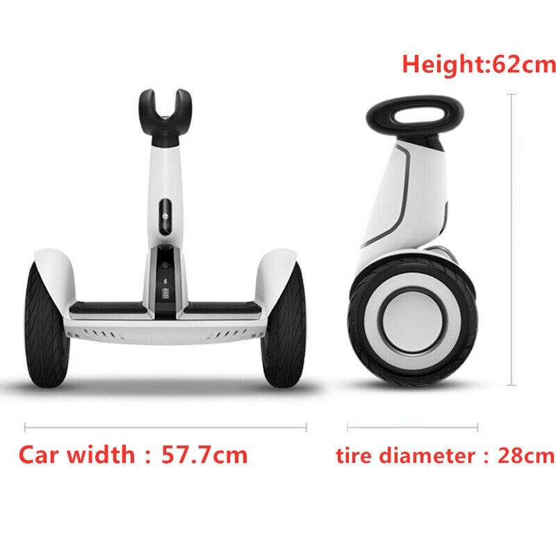 Xiaomi Mini Plus двухколесный умный электрический самокат, самобалансирующийся скутер, 20 км/ч, пульт дистанционного управления, скейтборд, 2019 - 3