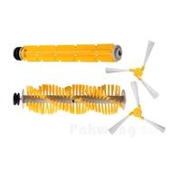 Original Roboter-staubsauger A325 Sider Pinsel 2 stücke Haar Brush1 pc Gummi Pinsel 1 stück versorgungsmaterial fabrik