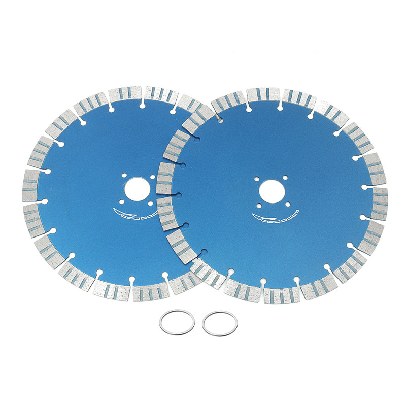 цена на 2pcs 230mm Diamond Saw Blade Wheel Cutting Disc for Concrete Marble Masonry Tile