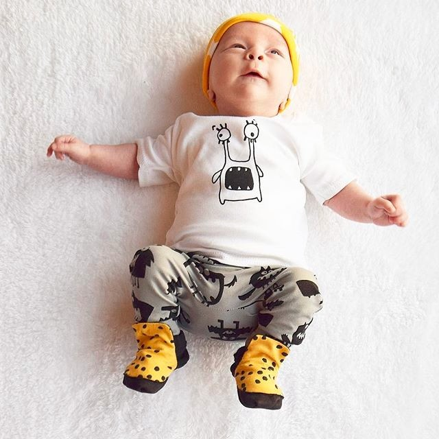 a1209a53d6318 2019 Hot sale Summer new baby boy clothes set unisex cartoon T-shirt+pants  2pcs Infant clothes newborn baby girl clothing set
