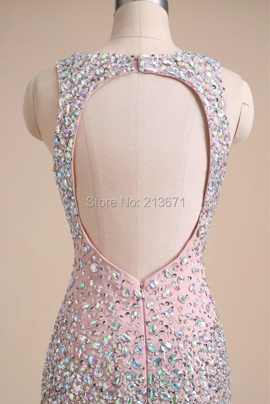 Baijinbai Luxe Nouvelle Mode Rose Élégant Robes De Soirée 2019 - Habillez-vous pour des occasions spéciales - Photo 5