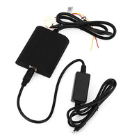 Auto Lettore CD Adapter Musica AUX Interfaccia Audio Collegare fotocamere Digitali, CD Box per Nissan Infiniti senza CD 6 Dischi Changer