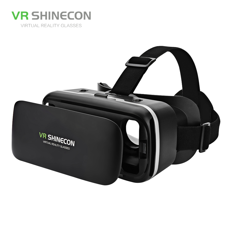 VR SHINECON6.0 Virtual Reality 3D Virtual Reality Glasses Vr Box Casque Realidade Virtual For Iphone Android 4.0-6 inch