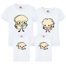 93c6435d0 2019 Toast Bread t Shirt Matching Family Outfits Cartoon Man 6xl Big Tee  tshirt Matching Family Top Tshirt Cute Red Shirts