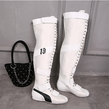 Best Savings for Knee High Boots 2019 New Genuine Leather Ankle Boots for  Women Spring Autumn 978093cc17db