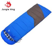 Jungle King 2017 new outdoor camping equipment cotton sleeping bags wholesale adult supplies envelopes mutual