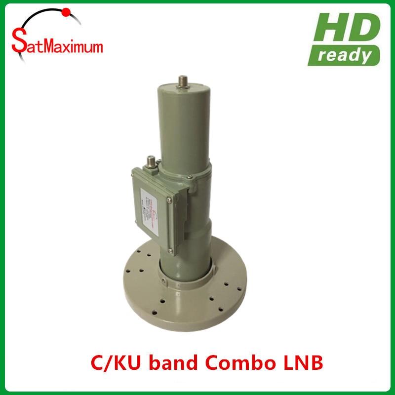Free shipping C Universal Ku Band CKU C Ku LNB LNBF Linear Polarization FTA