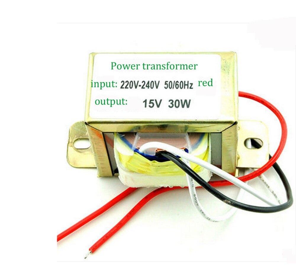 Двойной трансформатор питания 30 Вт 15 В: Вход: 220 В/50 Гц Выход: двойной 15 в|supply transformer|power transformertransformer transformer | АлиЭкспресс